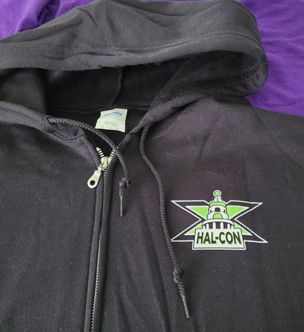 Hal-Con X hoodie